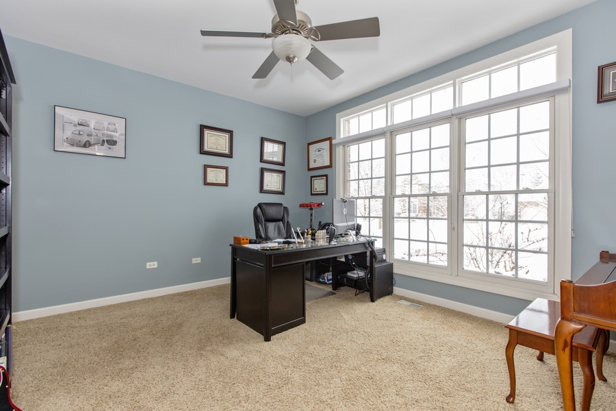 Real Estate Photography - 3655 Hector Ln, Naperville, IL, 60564 - Office