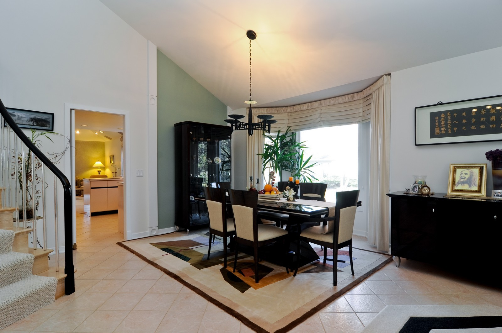 Real Estate Photography - 363 Rivershire Ct, Lincolnshire, IL, 60069 - Dining Room