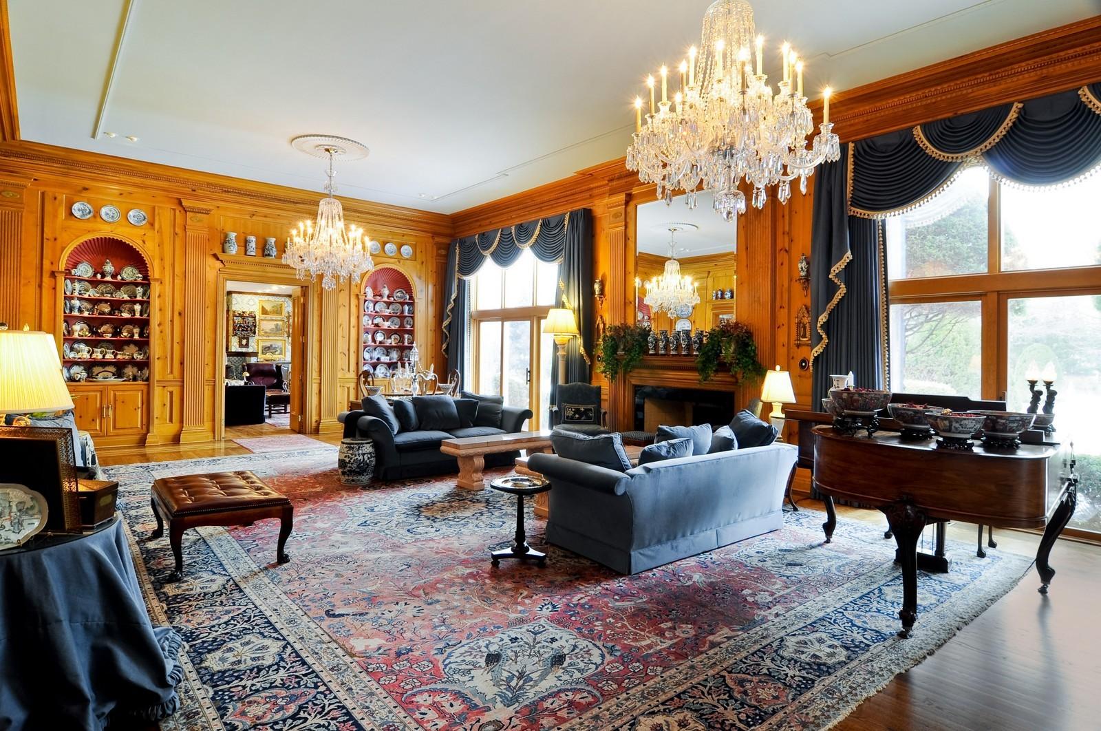 Real Estate Photography - 25471 W Plamondon, Wheaton, IL, 60189 - Great Room 2