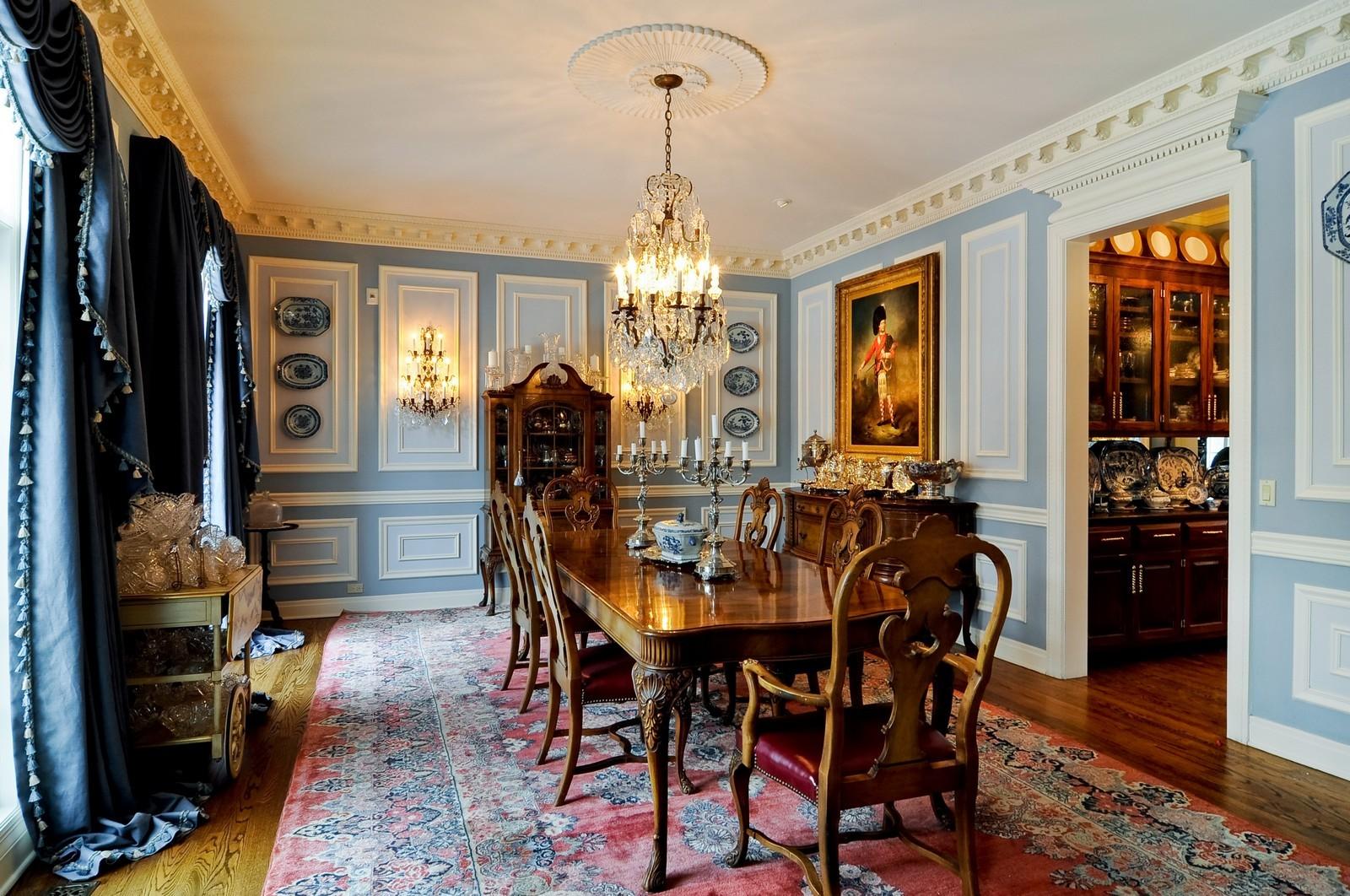 Real Estate Photography - 25471 W Plamondon, Wheaton, IL, 60189 - Dining Room