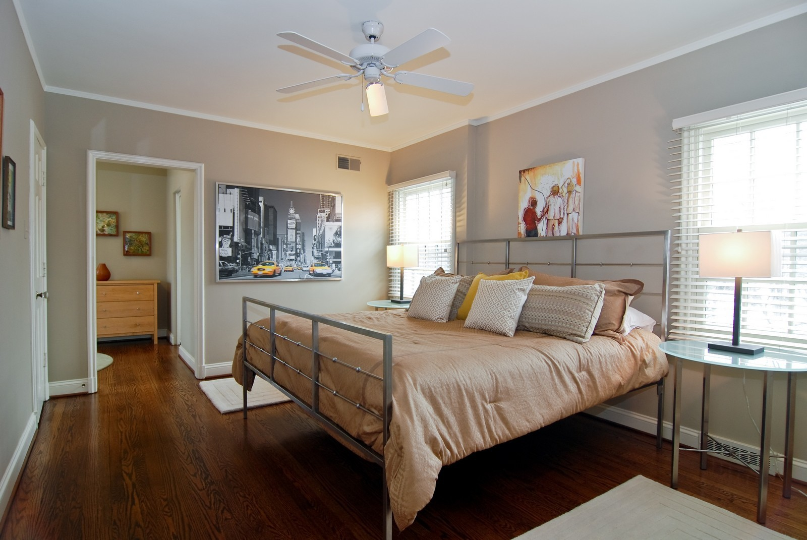 Real Estate Photography - 1532 Butterfield Road, Flossmoor, IL, 60422 - 2nd Bedroom
