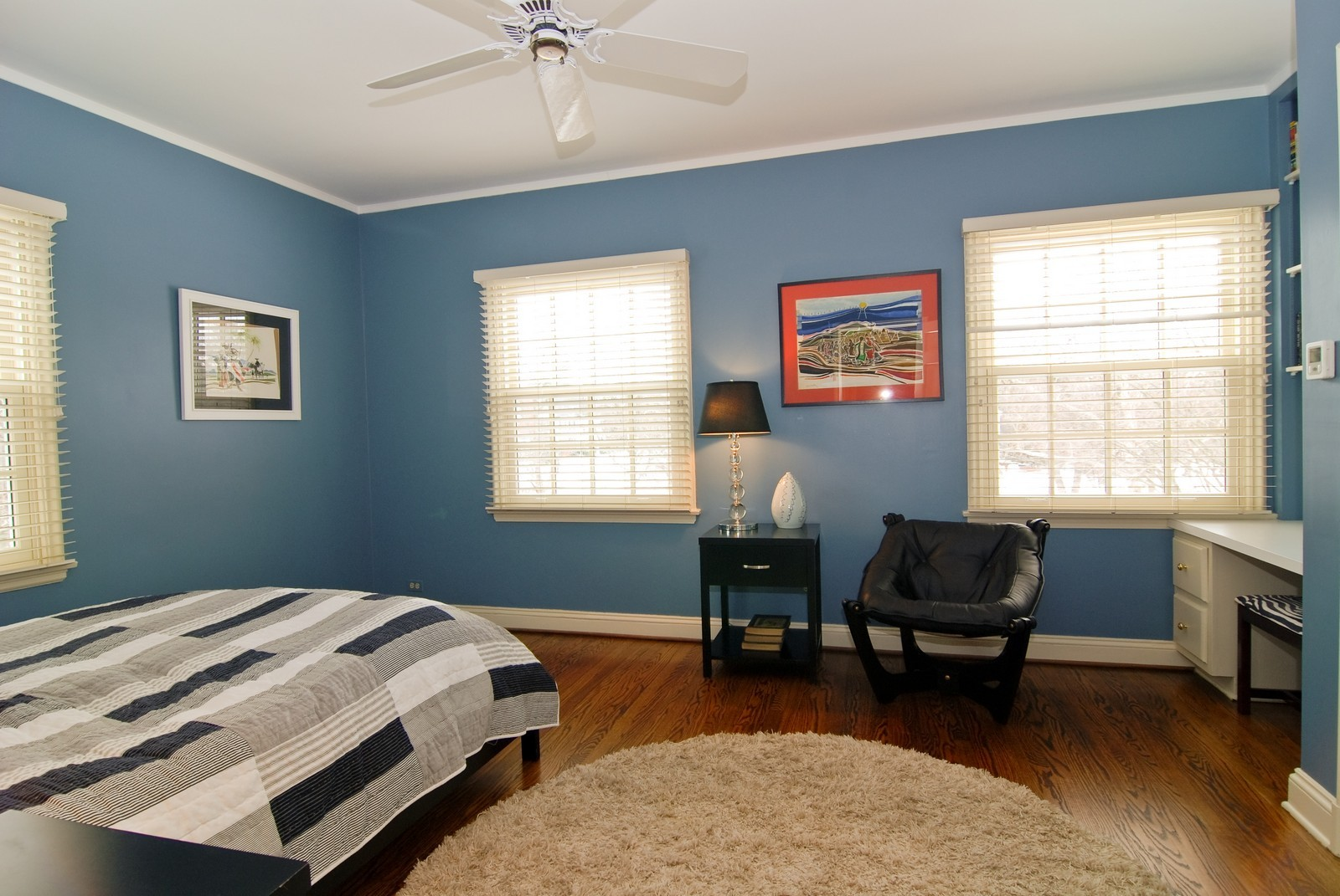 Real Estate Photography - 1532 Butterfield Road, Flossmoor, IL, 60422 - 3rd Bedroom