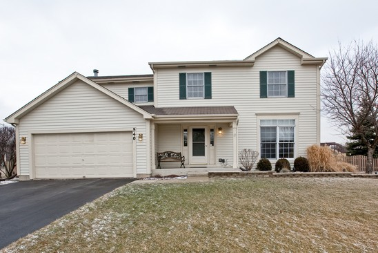 Front View photograph of 540 Springwood Bolingbrook Illinois 60440