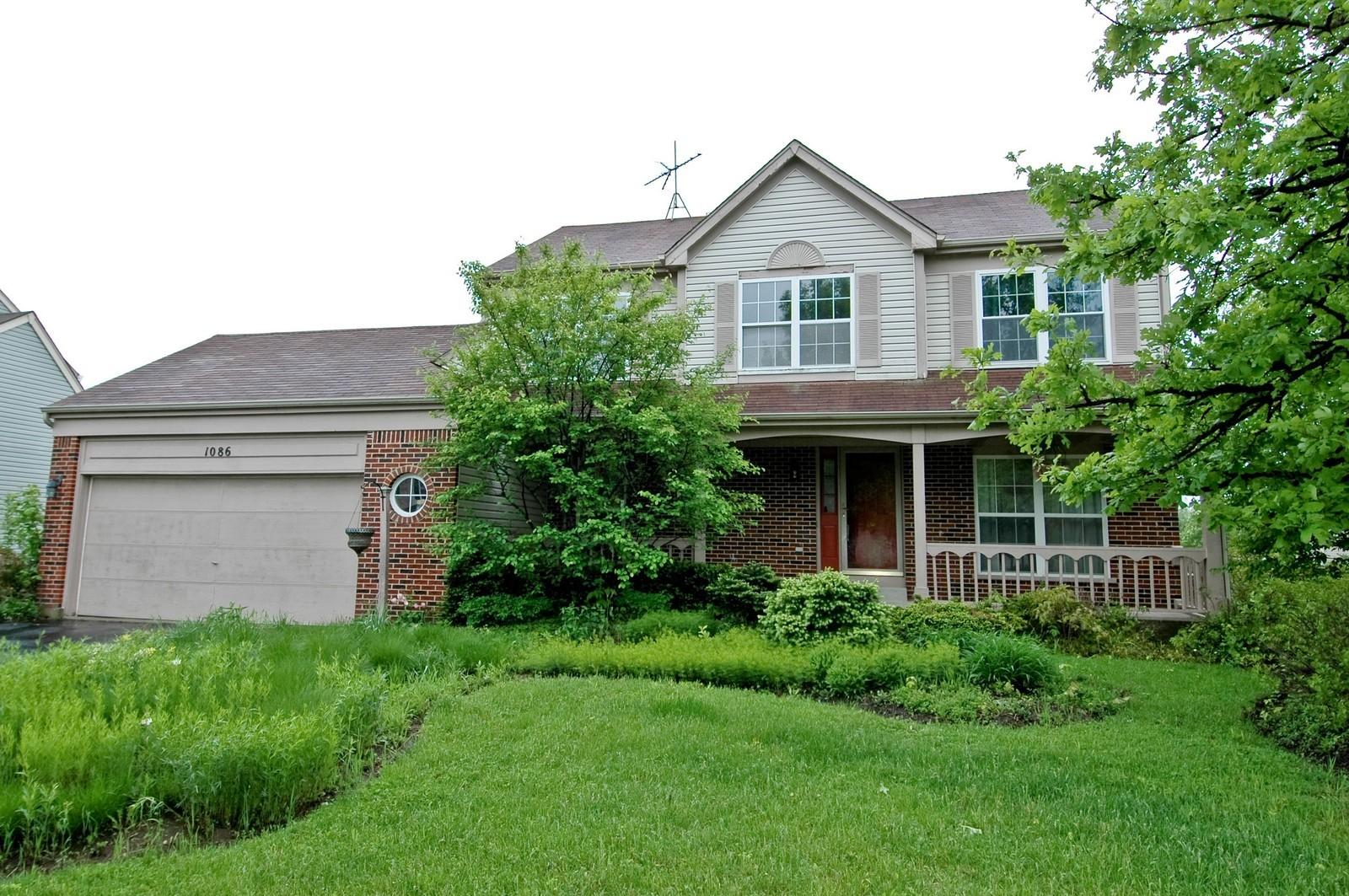 Real Estate Photography - 1086 Camillia, Fox River Grove, IL, 60021 - Front View