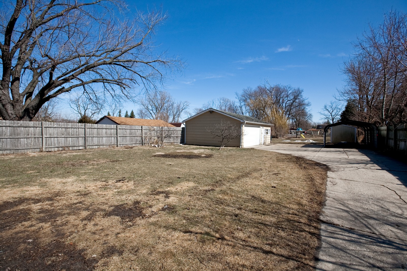 Real Estate Photography - 521 N Park, Westmont, IL, 60559 - Back Yard