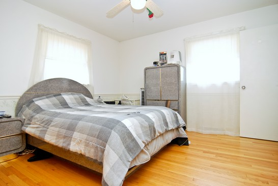 Master Bedroom with hardwood flooring photograph of 420 W Forest Round Lake Illinois 60073
