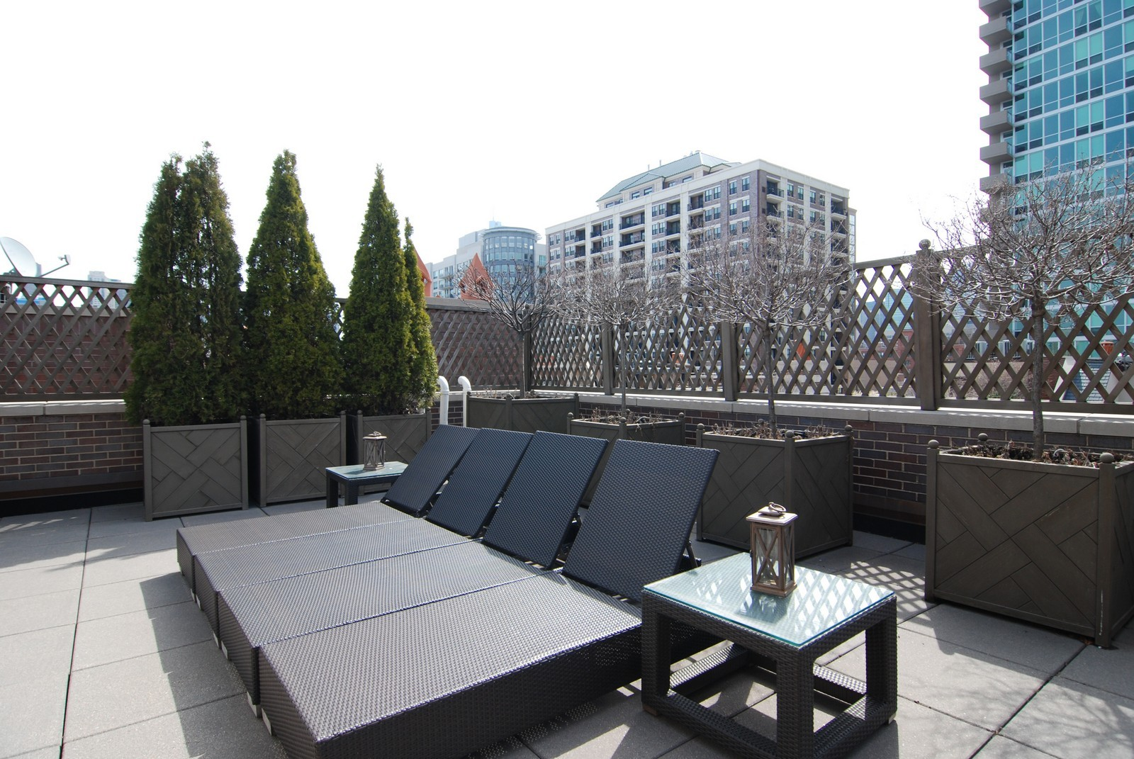 Real Estate Photography - 729 N Kingsbury, Chicago, IL, 60654 - Terrace 2