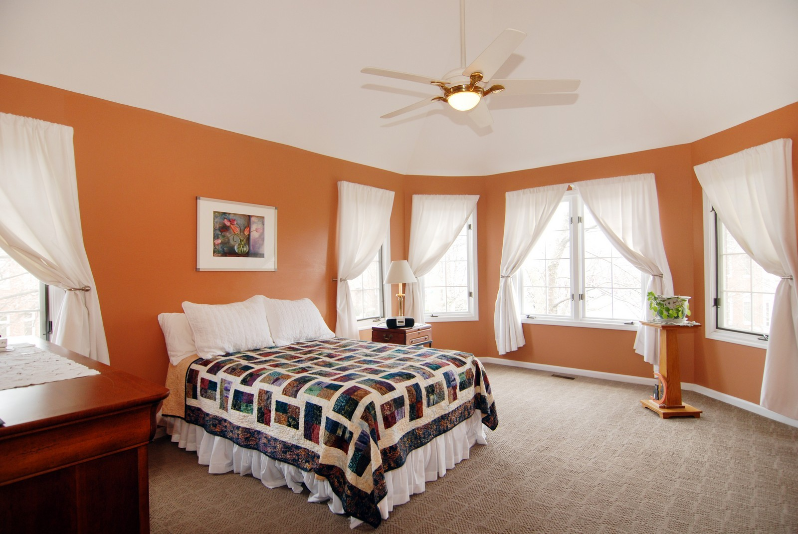 Real Estate Photography - 5918 N Sauganash Ln, Chicago, IL, 60647 - Master Bedroom