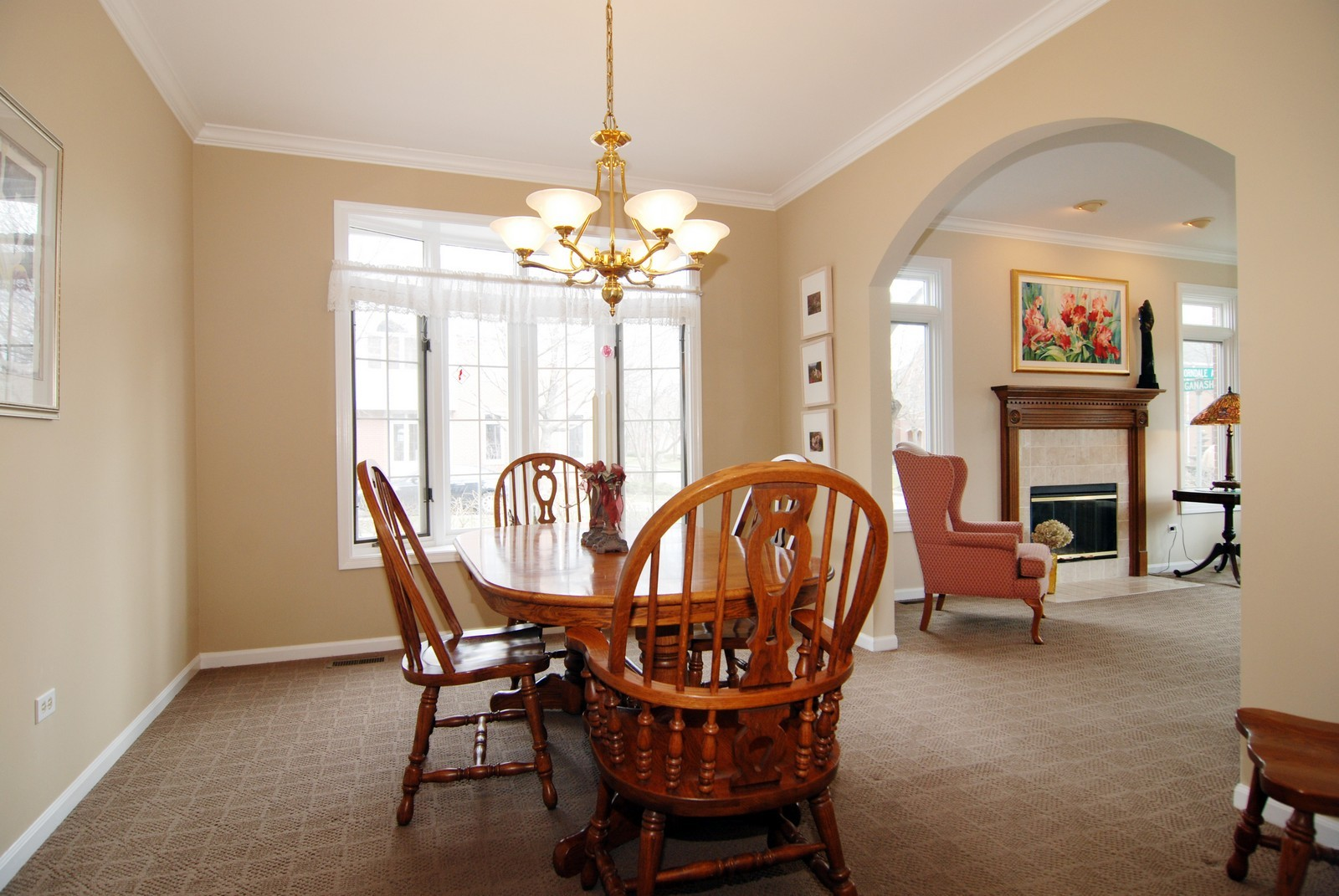 Real Estate Photography - 5918 N Sauganash Ln, Chicago, IL, 60647 - Dining Room