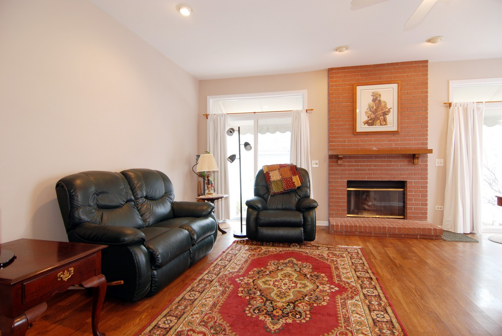 Real Estate Photography - 5918 N Sauganash Ln, Chicago, IL, 60647 - Family Room