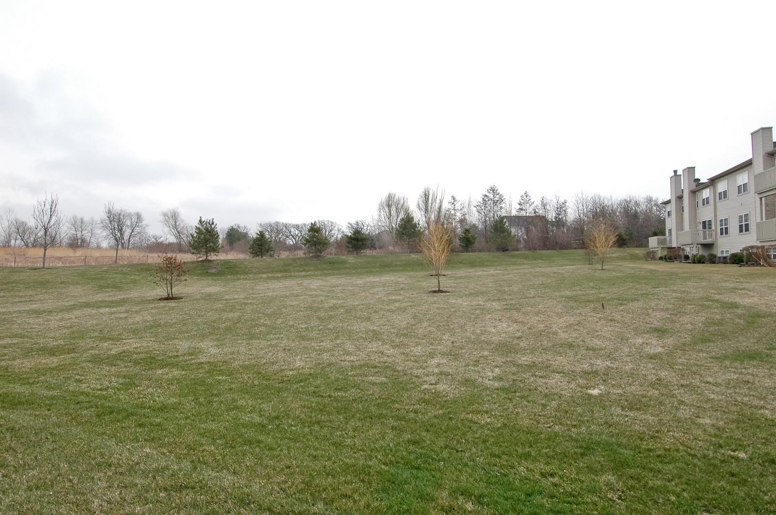 Real Estate Photography - 2623 Cobblestone, Crystal Lake, IL, 60012 - Back Yard