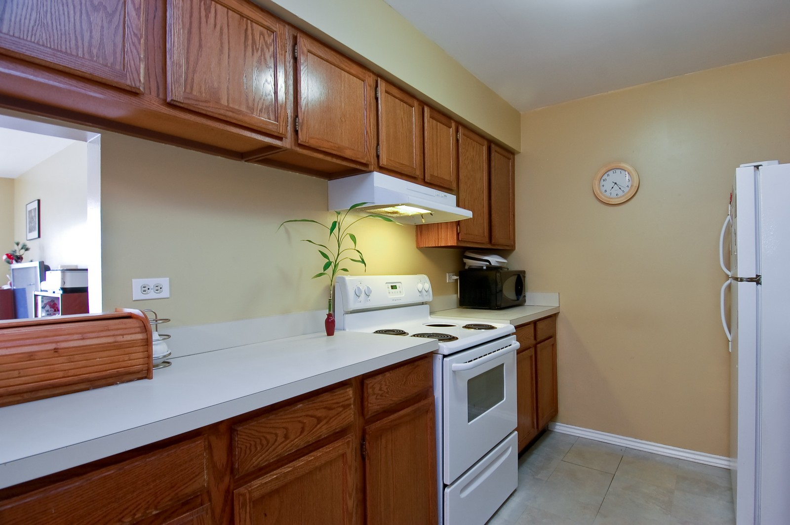 Real Estate Photography - 1444 Stonebridge, H1, Wheaton, IL, 60187 - Kitchen