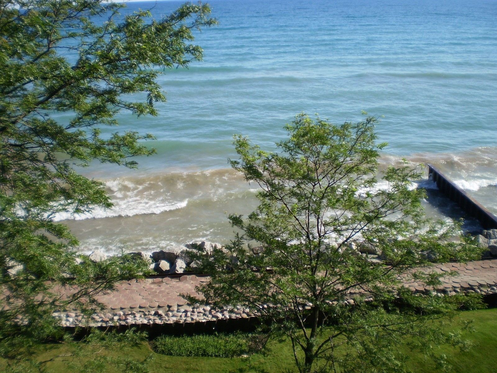 Real Estate Photography - 1500 Sheridan, 3F, Wilmette, IL, 60091 - Beach