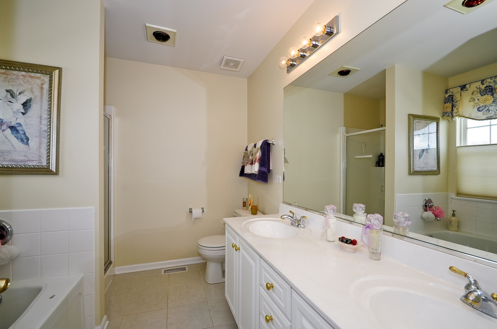 Real Estate Photography - 2012 Wagner, 206, Batavia, IL, 60510 - Master Bathroom
