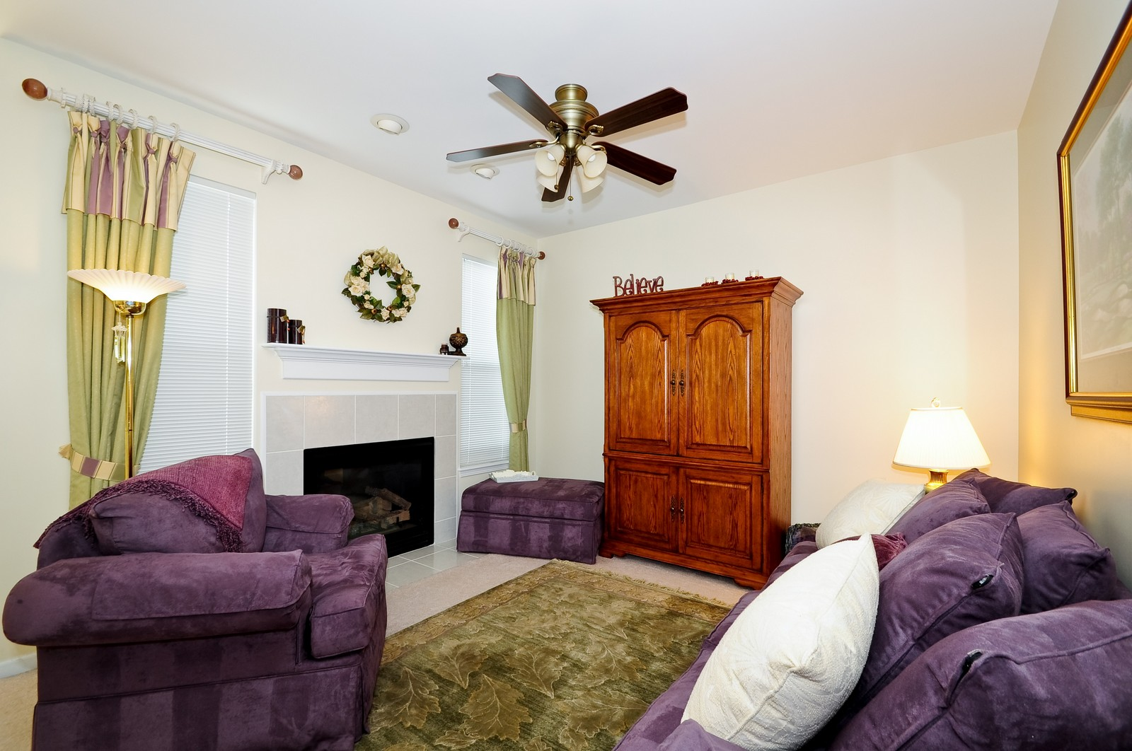 Real Estate Photography - 2012 Wagner, 206, Batavia, IL, 60510 - Family Room