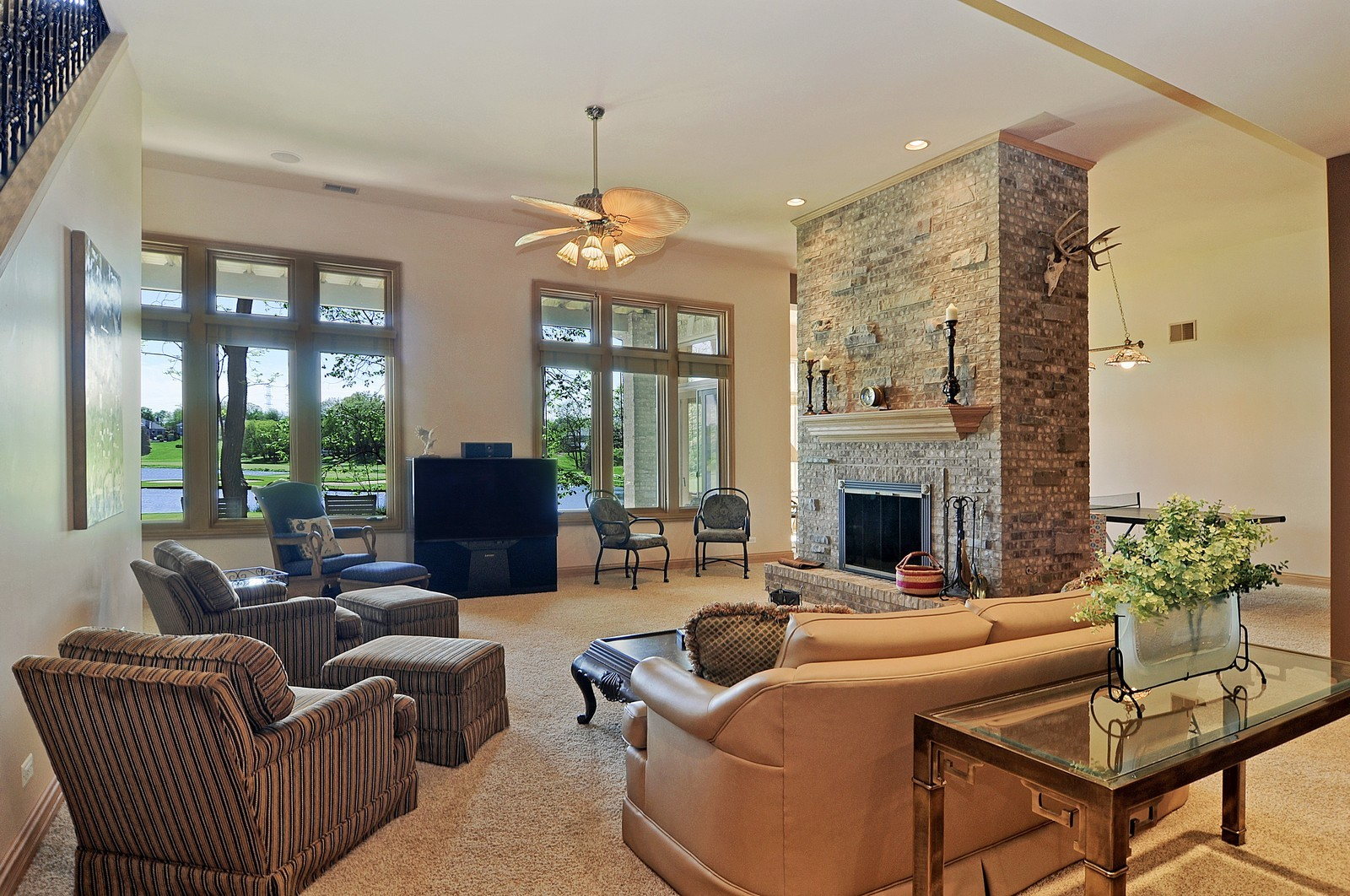 Real Estate Photography - 49 Brittany, Oakwood Hills, IL, 60013 - Lower Level