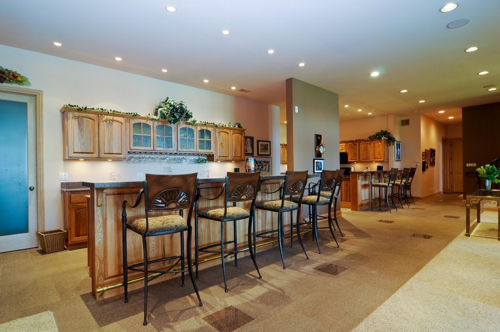 Real Estate Photography - 49 Brittany, Oakwood Hills, IL, 60013 - Basement