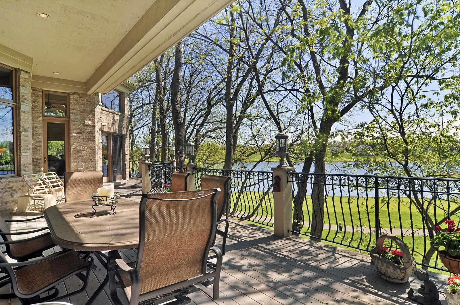 Real Estate Photography - 49 Brittany, Oakwood Hills, IL, 60013 - Balcony