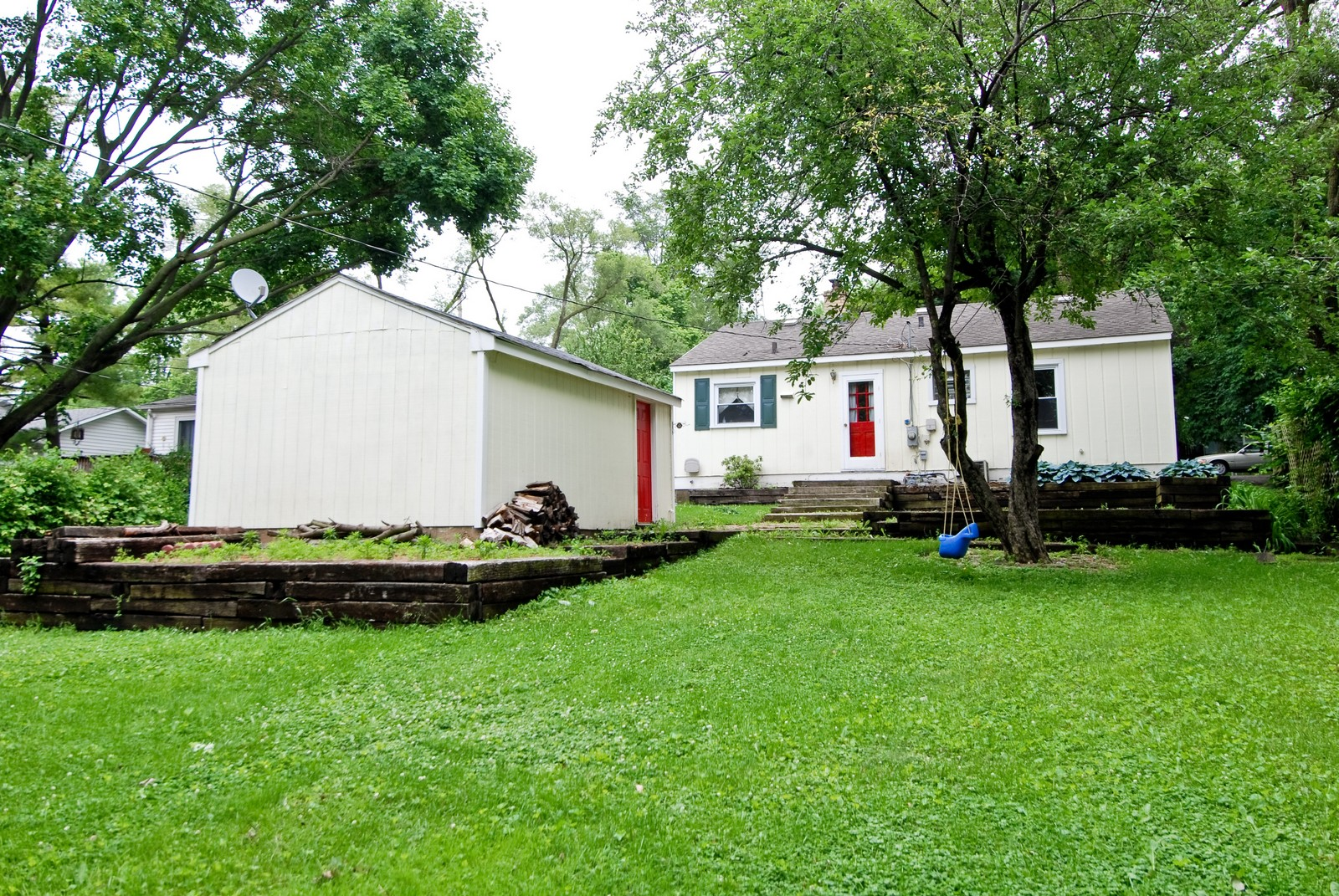 Real Estate Photography - 840 N Third, Geneva, IL, 60134 - Rear View