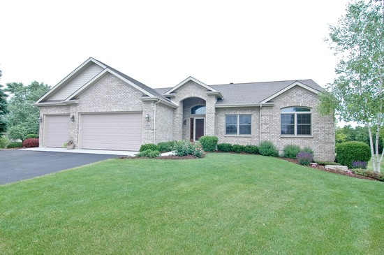 Front View photograph of 25050 W Palmer Antioch Illinois 60002
