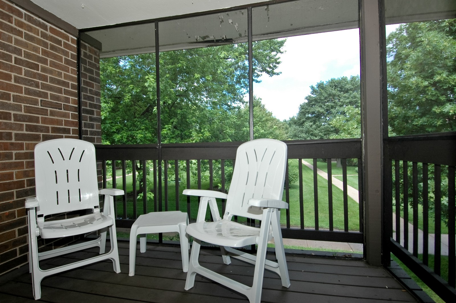 Real Estate Photography - 566 Somerset, Crystal Lake, IL, 60014 - Balcony