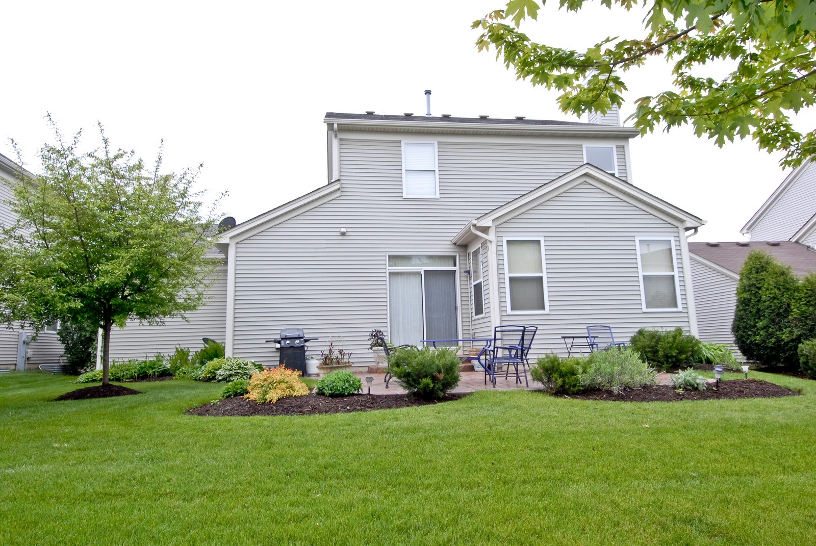 Real Estate Photography - 426 Red Sky, Saint Charles, IL, 60174 - Rear View