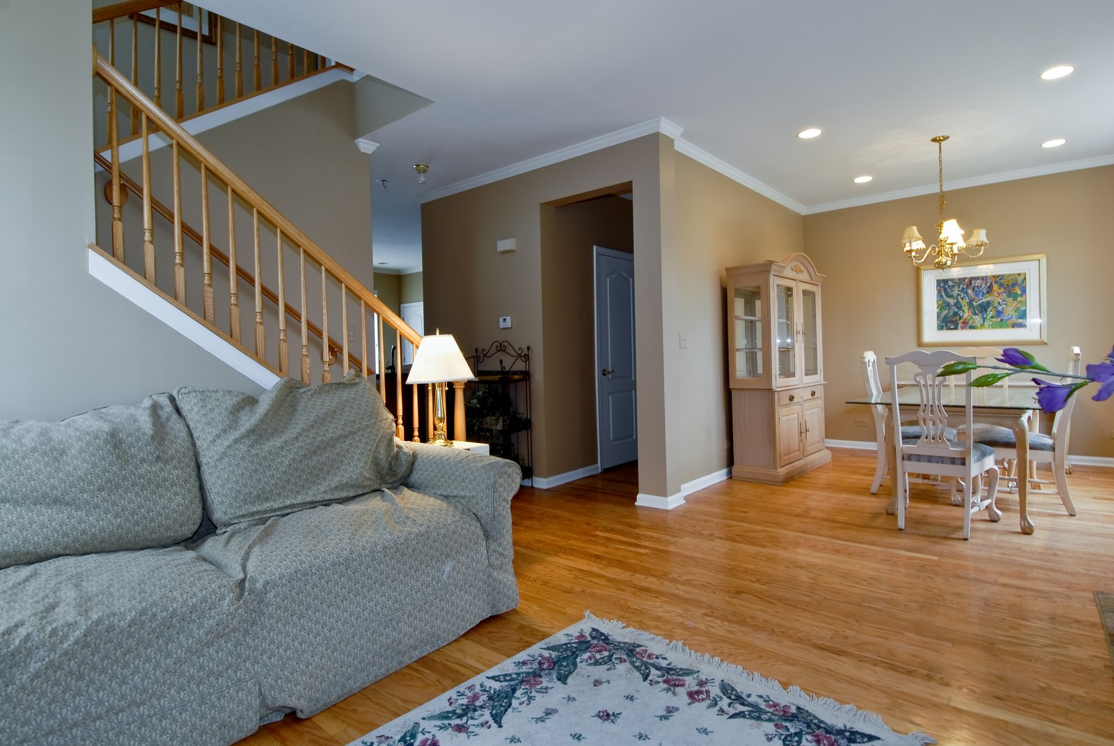 Real Estate Photography - 426 Red Sky, Saint Charles, IL, 60174 - Living Room / Dining Room