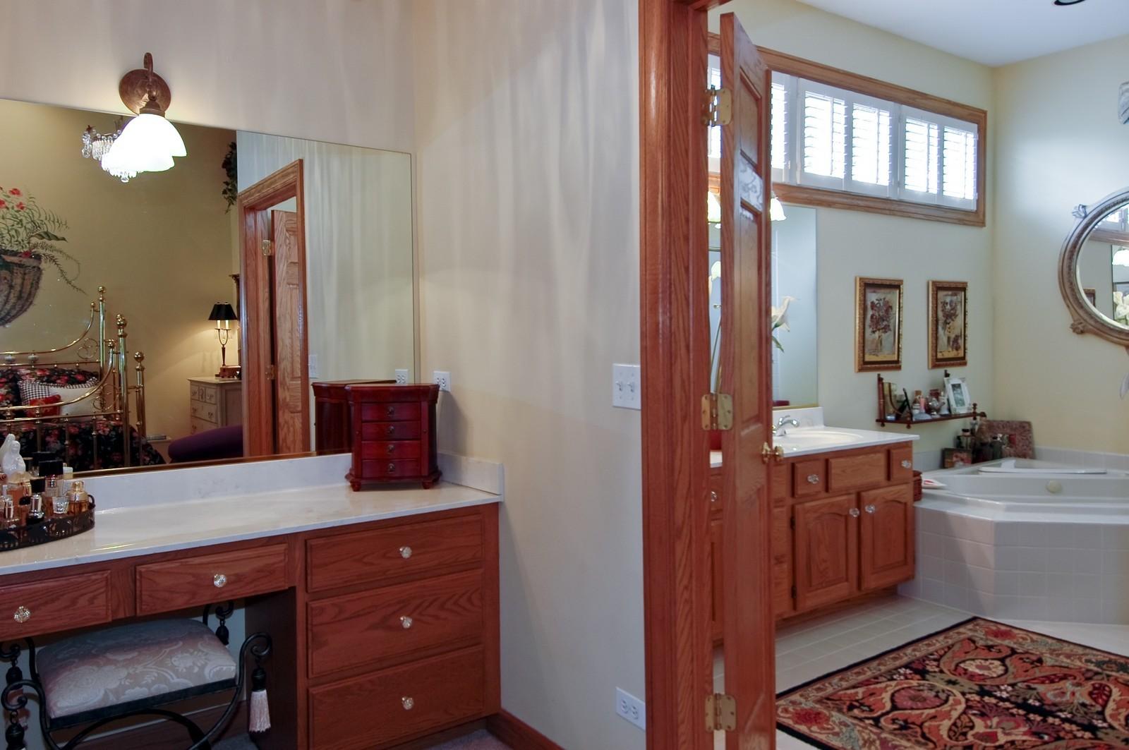 Real Estate Photography - 5 La Costa, Lake in the Hills, IL, 60156 - Master Dressing Area