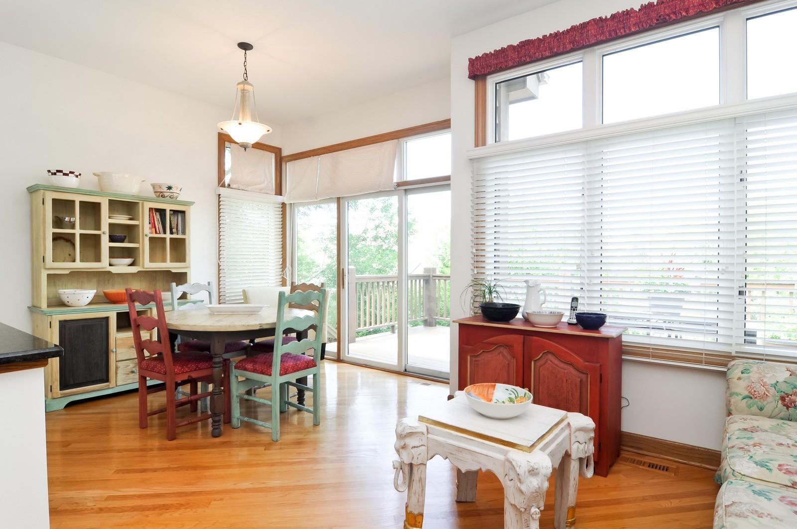 Real Estate Photography - 5 La Costa, Lake in the Hills, IL, 60156 - Breakfast Nook