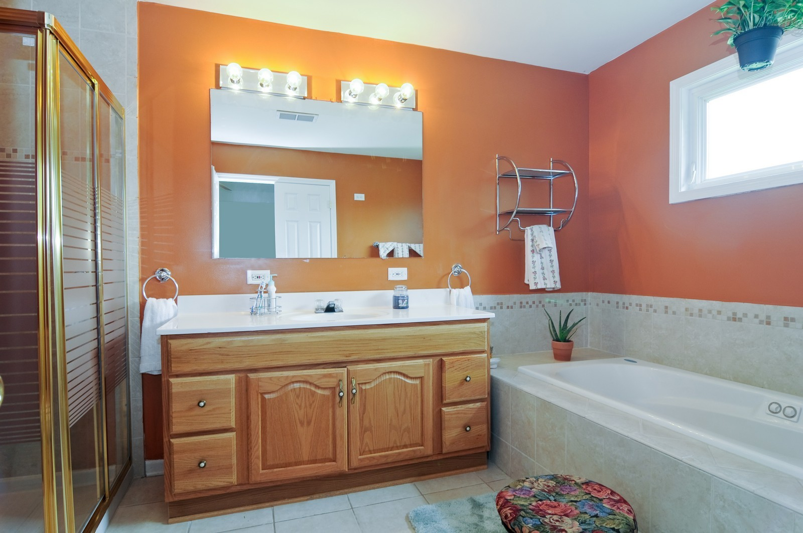 Real Estate Photography - 523 Lowe, Chicago Heights, IL, 60411 - Master Bathroom