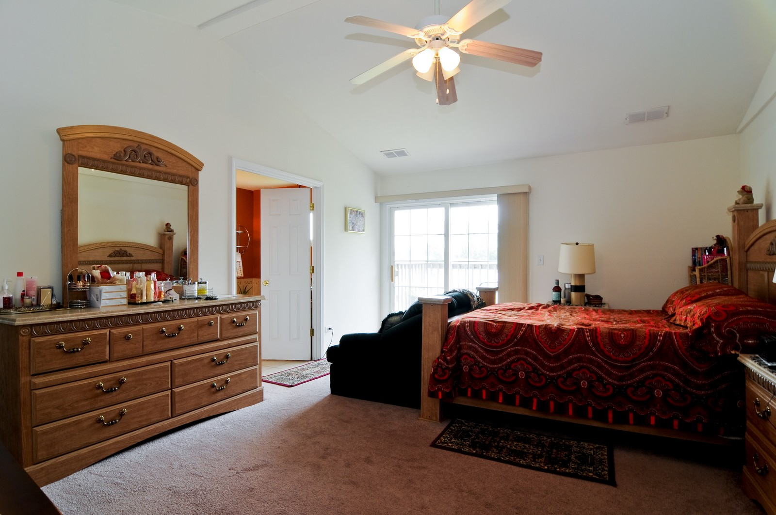 Real Estate Photography - 523 Lowe, Chicago Heights, IL, 60411 - Master Bedroom