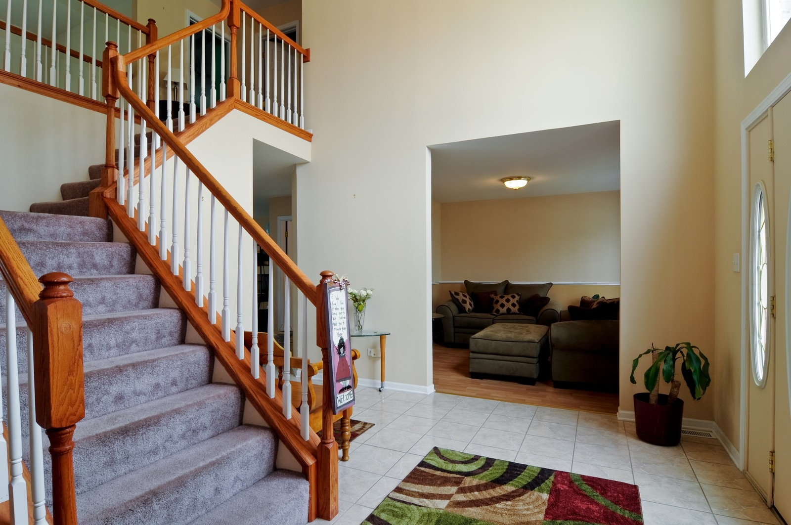 Real Estate Photography - 523 Lowe, Chicago Heights, IL, 60411 - Foyer/Living Room