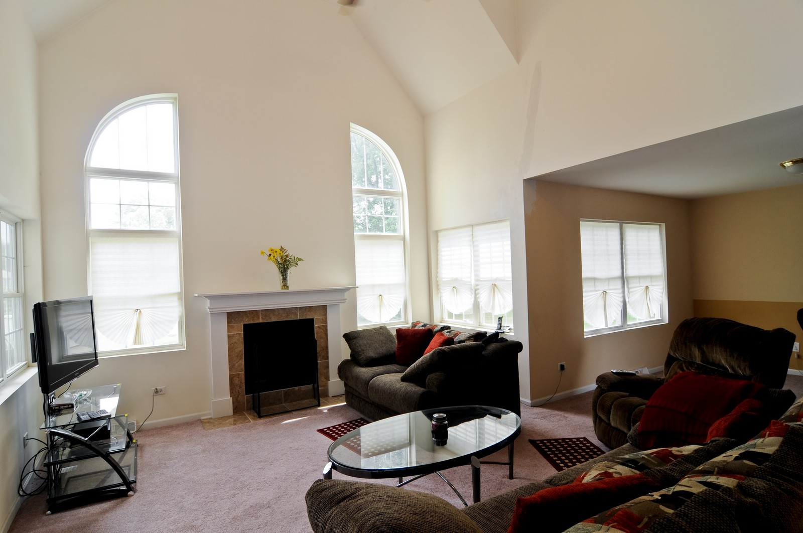 Real Estate Photography - 523 Lowe, Chicago Heights, IL, 60411 - Family Room