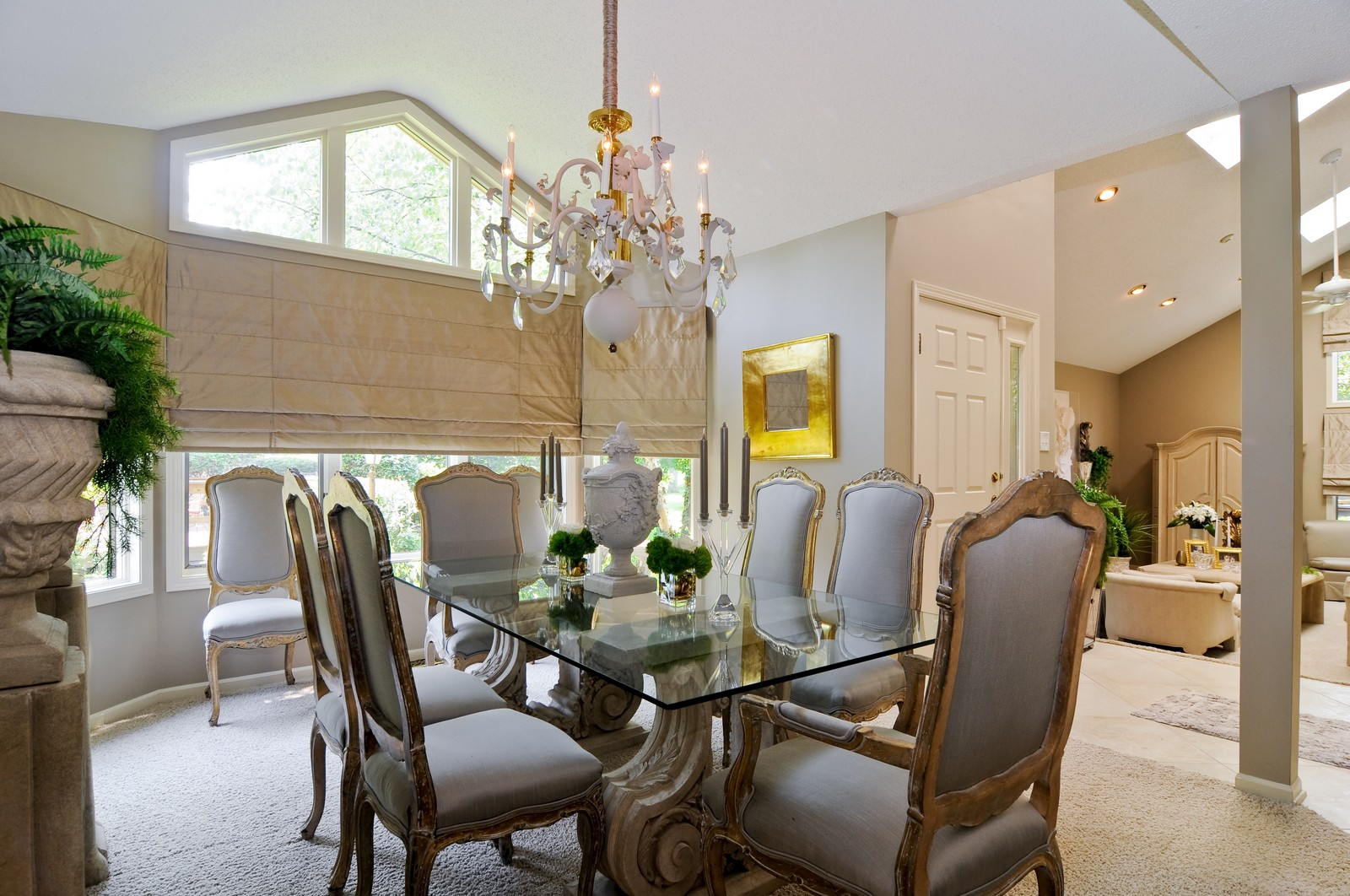 Real Estate Photography - 20060 Inverness, Olympia Fields, IL, 60461 - Dining Room