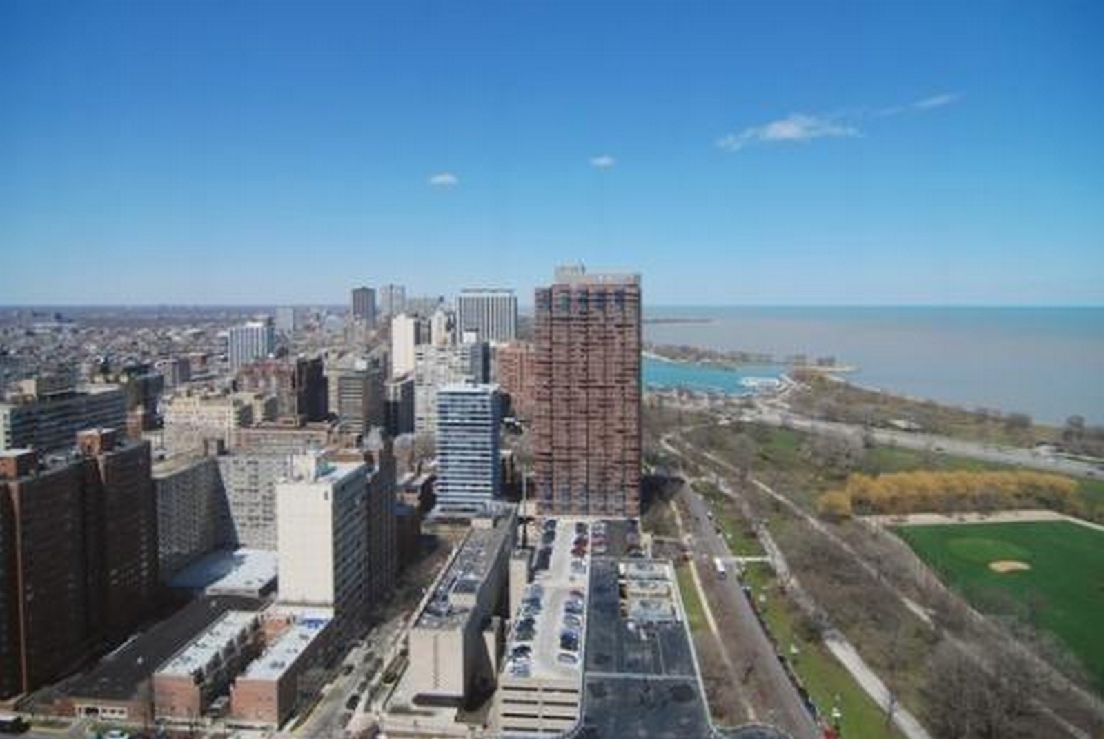 Real Estate Photography - 2800 N Lake Shore, Unit 806, Chicago, IL, 60657 - View