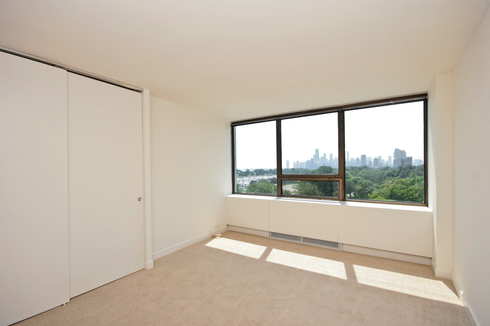 Real Estate Photography - 2800 N Lake Shore, Unit 806, Chicago, IL, 60657 - Bedroom