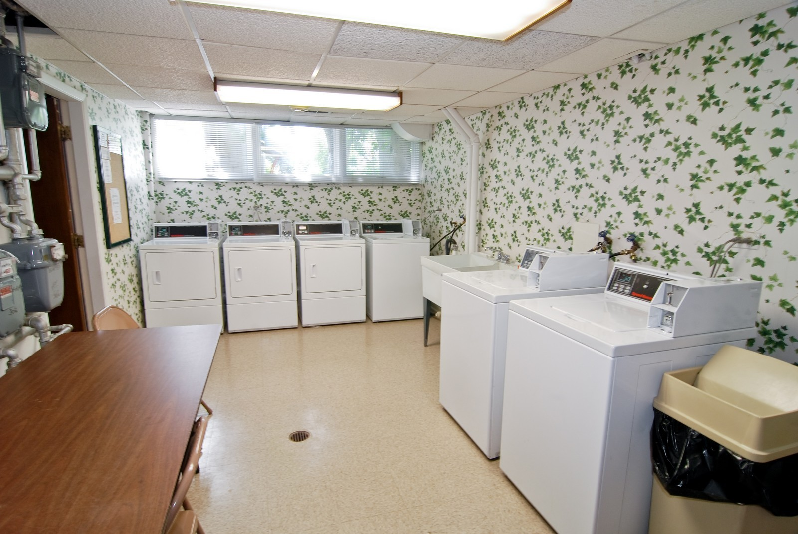 Real Estate Photography - 1535 Park, Unit 305, River Forest, IL, 60305 - Laundry Room