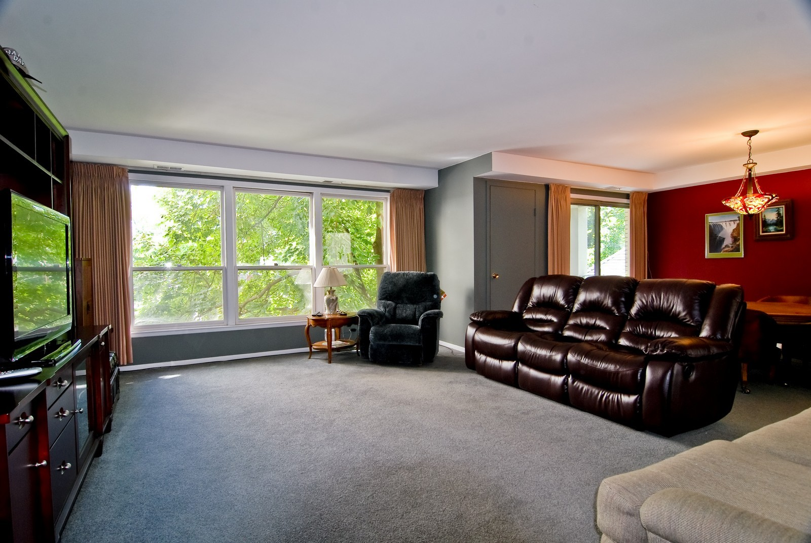 Real Estate Photography - 1535 Park, Unit 305, River Forest, IL, 60305 - Living Room / Dining Room