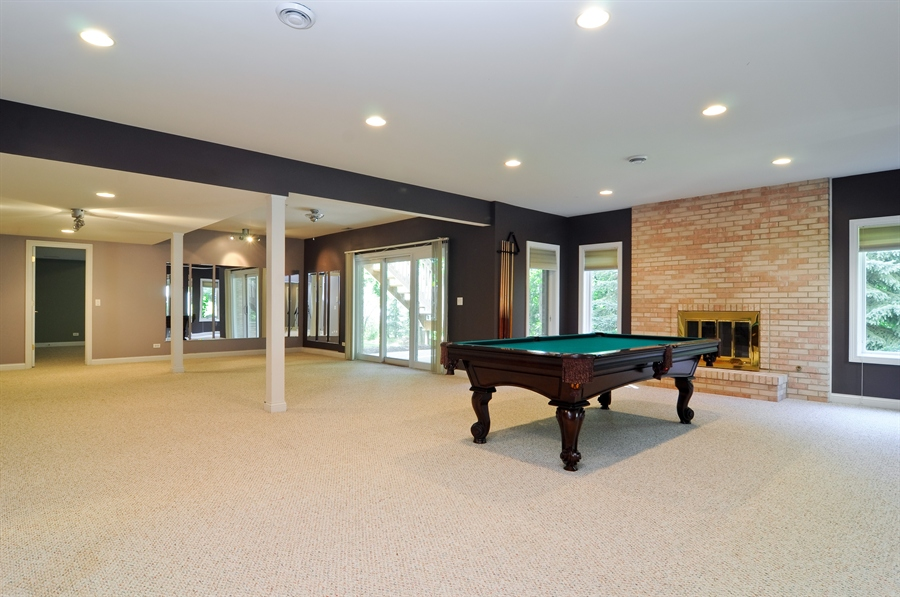 Real Estate Photography - 1016 Oakland, Barrington, IL, 60010 - Basement