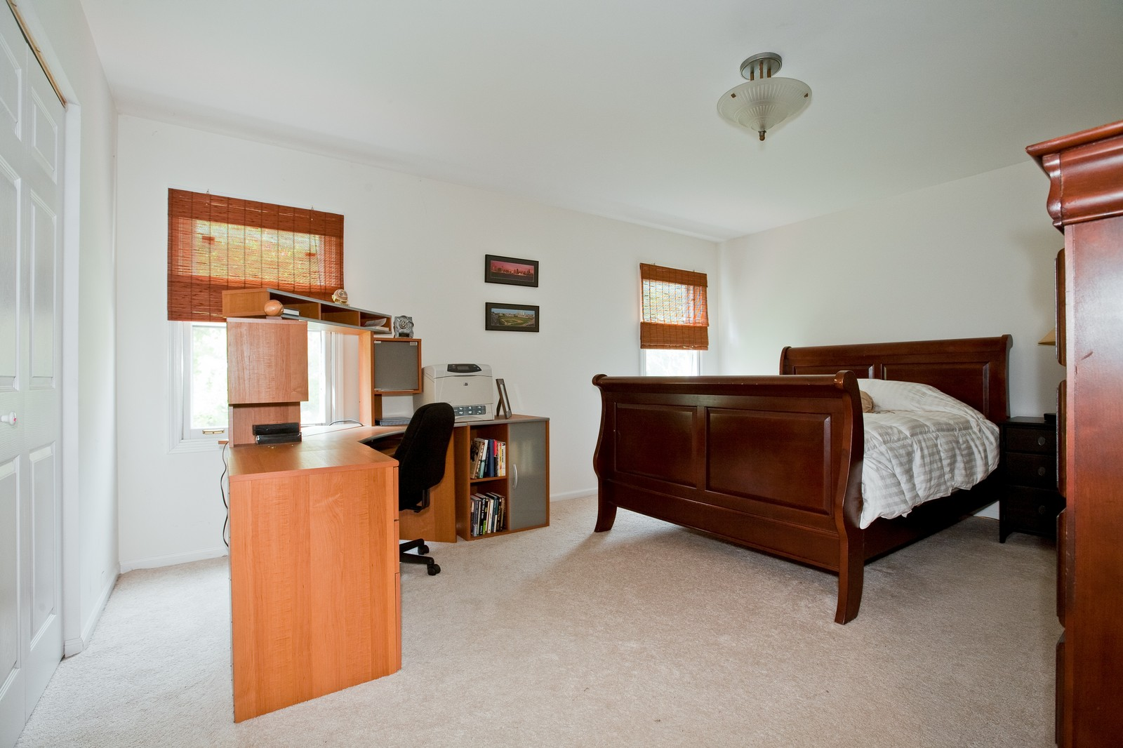 Real Estate Photography - 4050 West End, Downers Grove, IL, 60515 - Master Bedroom