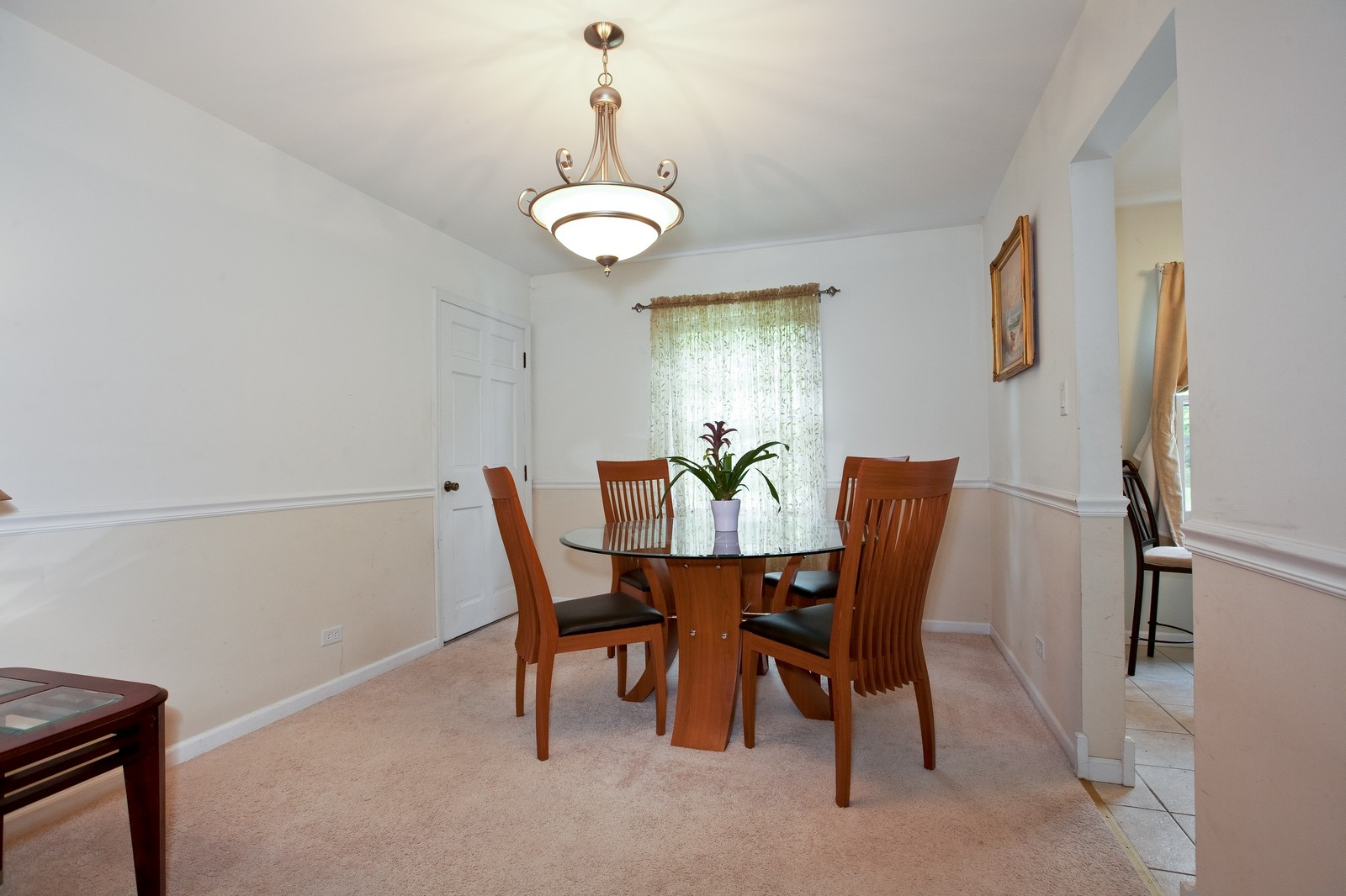 Real Estate Photography - 4050 West End, Downers Grove, IL, 60515 - Dining Room