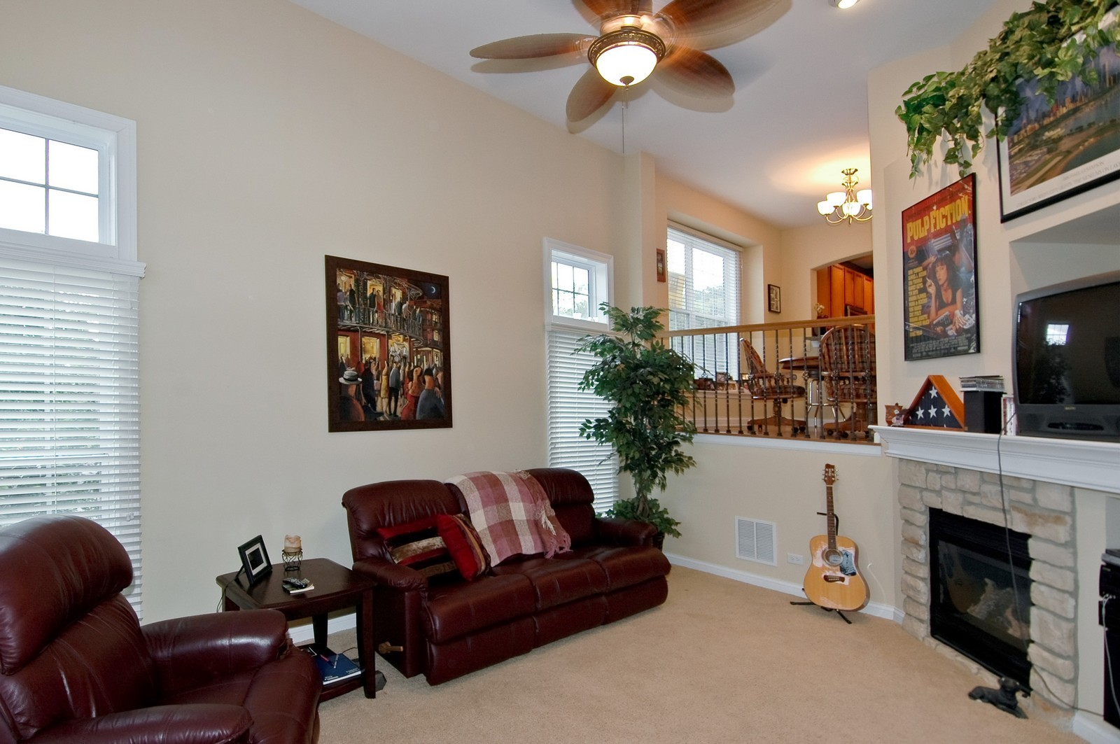 Real Estate Photography - 300 N Harrison, Algonquin, IL, 60102 - Living Room