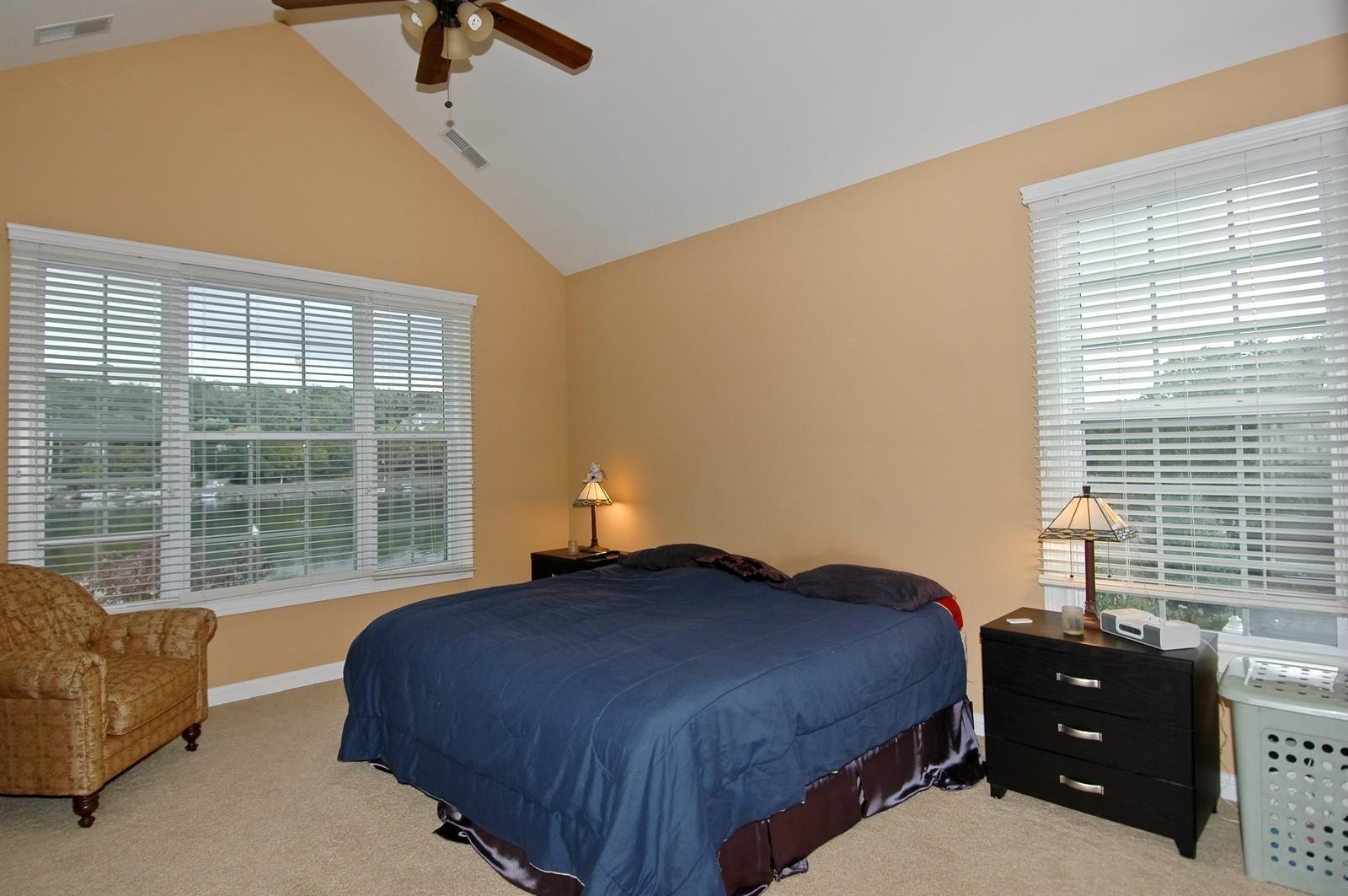 Real Estate Photography - 300 N Harrison, Algonquin, IL, 60102 - Master Bedroom
