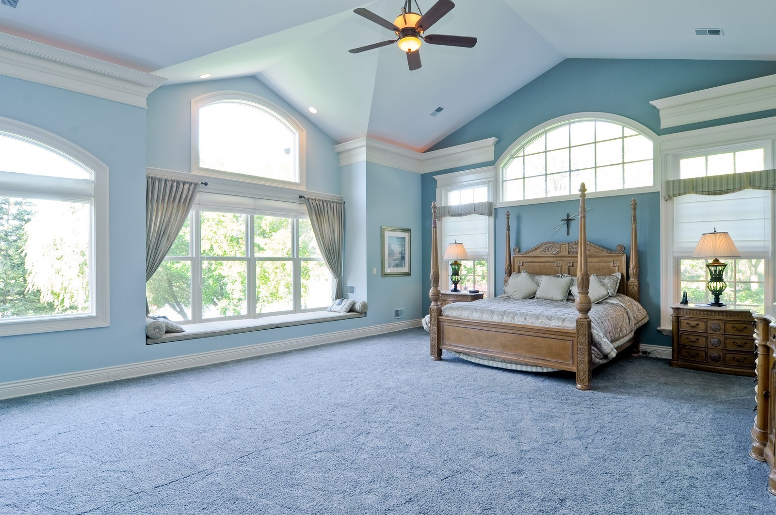 Real Estate Photography - 70 Dundee, Barrington Hills, IL, 60010 - Master Bedroom