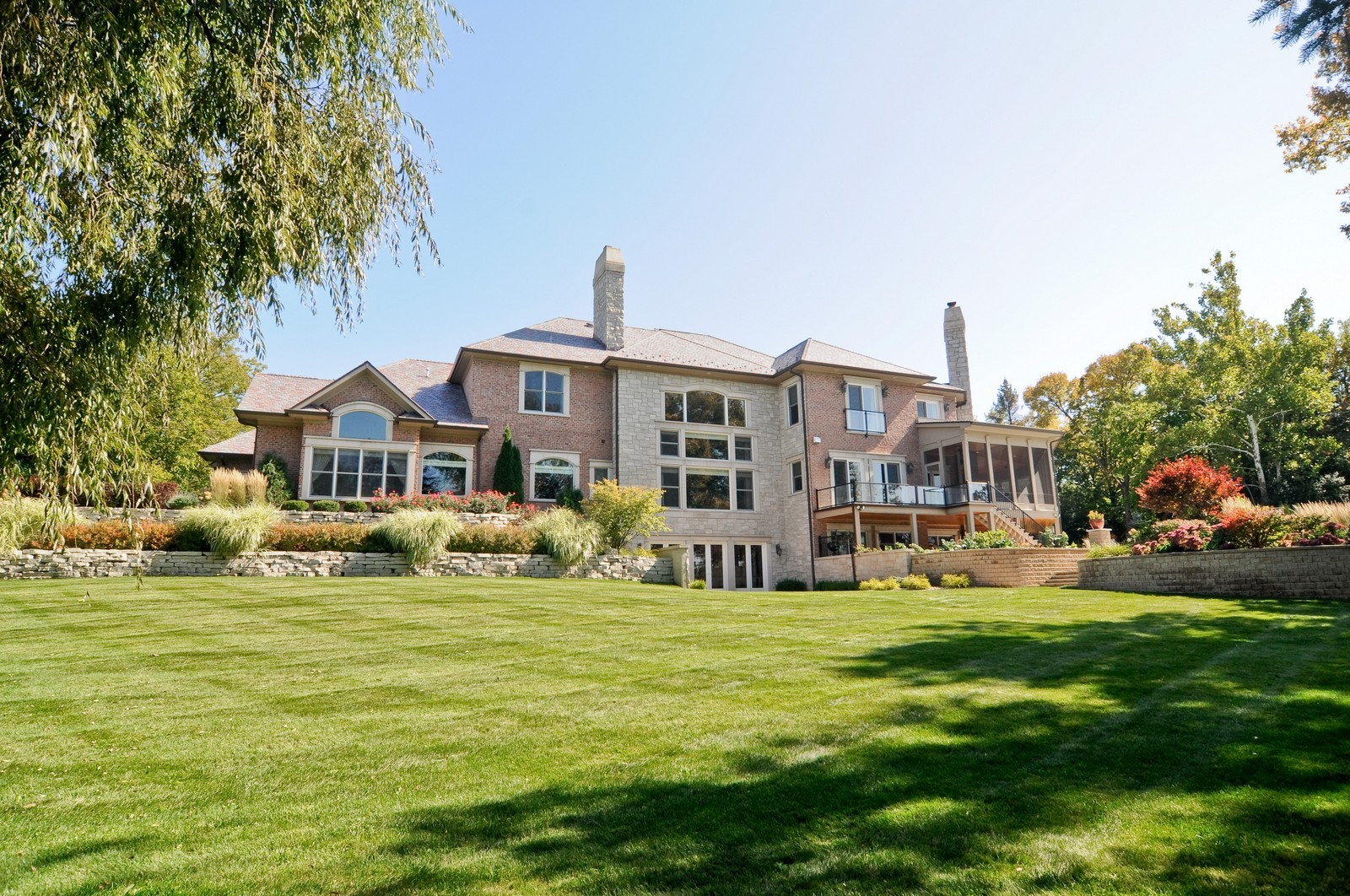 Real Estate Photography - 70 Dundee, Barrington Hills, IL, 60010 - View