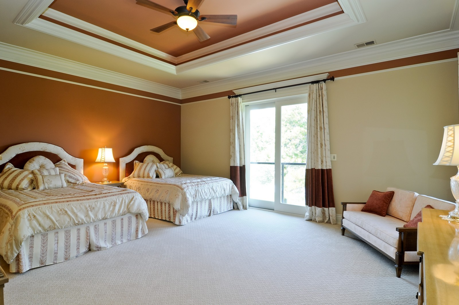 Real Estate Photography - 70 Dundee, Barrington Hills, IL, 60010 - 3rd Bedroom