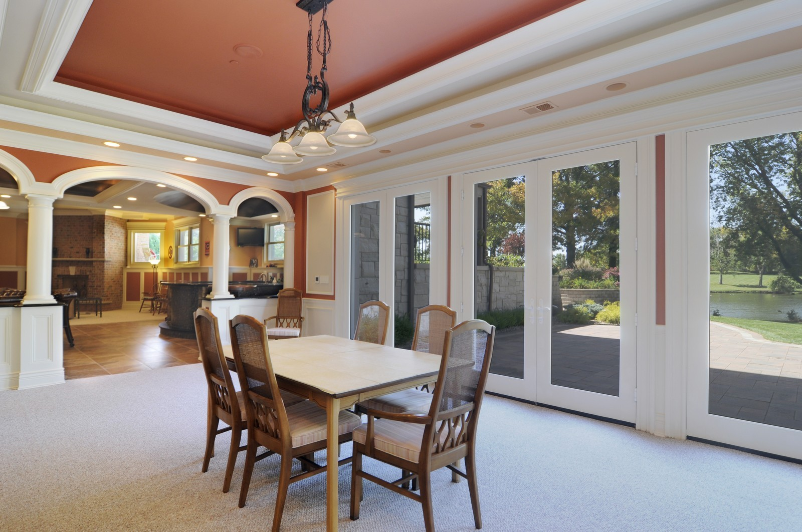 Real Estate Photography - 70 Dundee, Barrington Hills, IL, 60010 - Lower Level