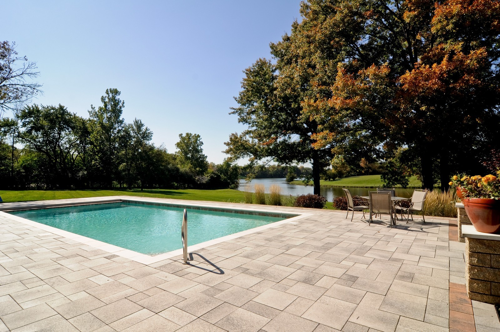 Real Estate Photography - 70 Dundee, Barrington Hills, IL, 60010 - Pool