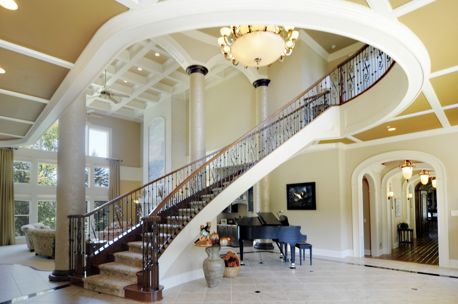 Real Estate Photography - 70 Dundee, Barrington Hills, IL, 60010 - Foyer
