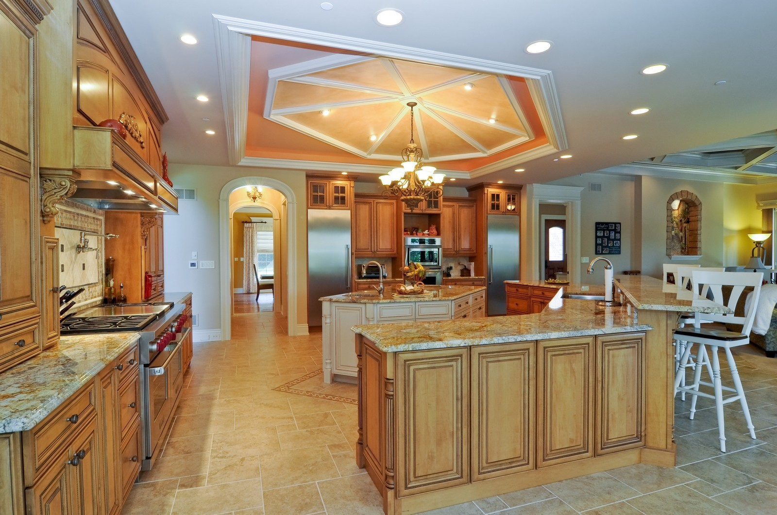 Real Estate Photography - 70 Dundee, Barrington Hills, IL, 60010 - Kitchen